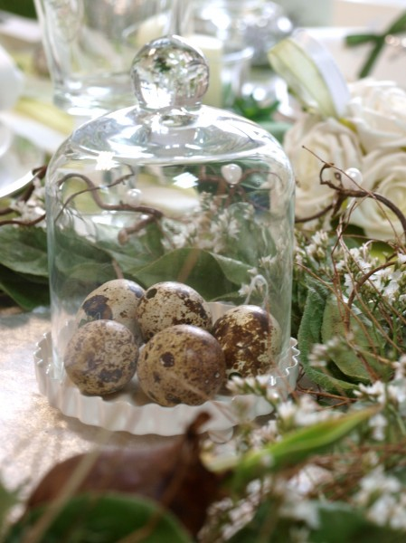 60 eier natur ostern deko dekoration tischdeko wachteleier braun creme frhling gra i patigra i. Black Bedroom Furniture Sets. Home Design Ideas